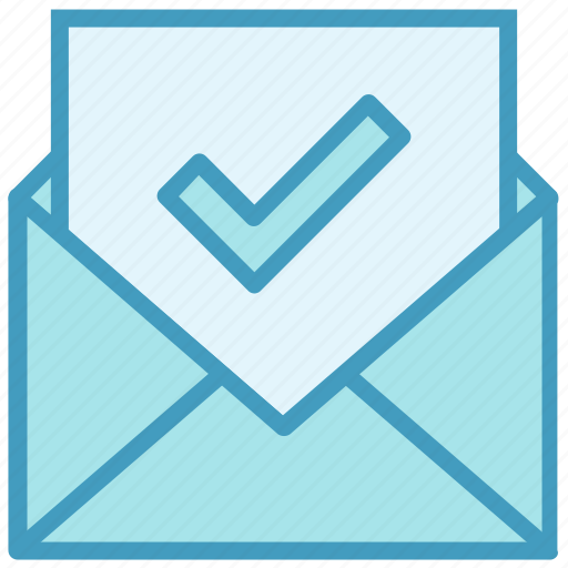 Accept, check, email, envelope, letter, mail, message icon - Download on Iconfinder