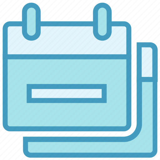 Agenda, appointments, calendars, date, days, months, schedules icon - Download on Iconfinder