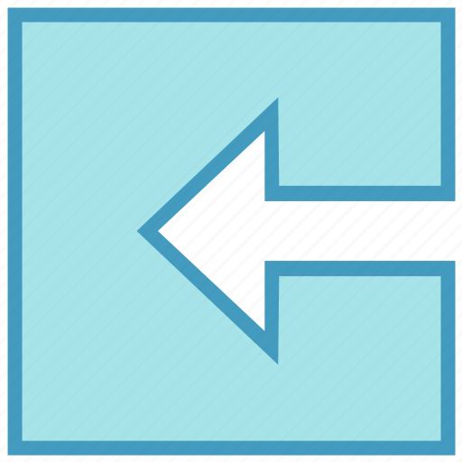 Arrow, box, forward, left, left arrow, material, square icon - Download on Iconfinder