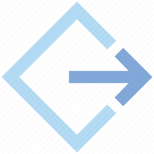 Arrow, direction, material, right icon - Download on Iconfinder