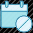 agenda, appointment, ban, block, calendar, date, schedule