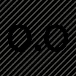 decimals icon