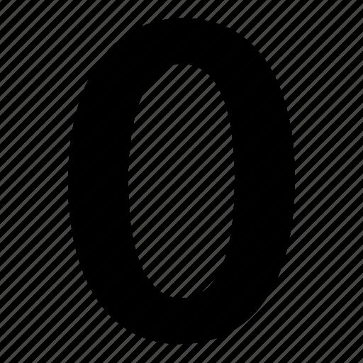 0, null, zero icon