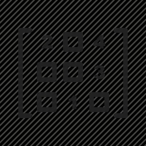 Math Symbols Linear Black By Iconbaandar Team