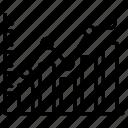 graph, growth, statistics icon