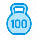 heavy, kg, kilogram, weight icon