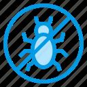 anti, bug, dust, mattress, mite icon
