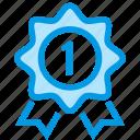 award, guarantee, one, warranty, year icon