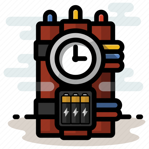 Bomb, dynamite, explosives, tnt icon - Download on Iconfinder