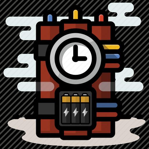 bomb, dynamite, explosives, tnt icon