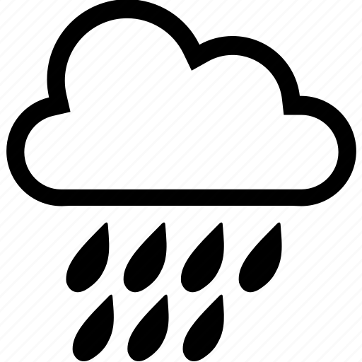 cloud, clouds, meanicons, rain, weather icon