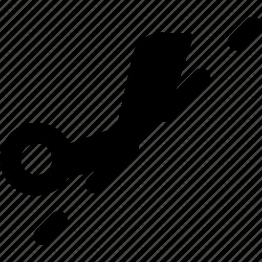 cut, edit, half, meanicons, scissor, scissors icon