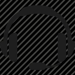 devices, gadget, headphones, headset icon