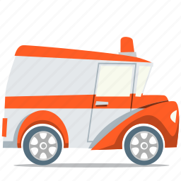 ambulance, emergency, first aid icon