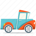 car, pick up truck, transport icon