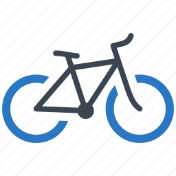 bicycle, bike, road transport, transport, vehicle icon