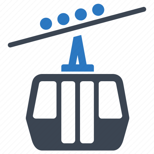 cable transport, gondola lift, ski lift, skiing, transport, transportation, travel icon