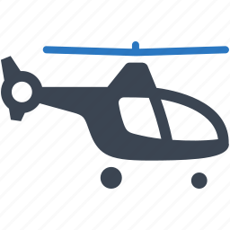 air transport, emergency, helicopter, transport, transportation, vehicle icon