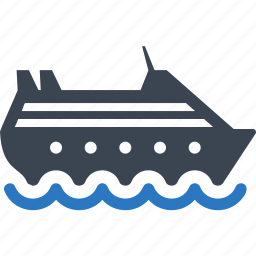 cargo, ship, shipping, transport, watercraft icon