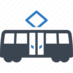 cable transport, public transport, road transport, traffic, tram, transport, vehicle icon
