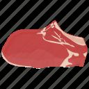 beef, devon meat, fresh meat, met, raw meat icon