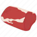 beef, beef baron, meat, raw meat, uncooked meat icon