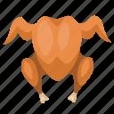 barbeque, chicken, food, grill, roast, turkey icon
