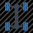 car, auto, chassis icon
