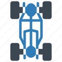 car, chassis, maintenance, repair, service icon