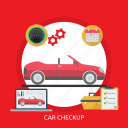 car, car checkup, checkup, engine, mechanic, service icon
