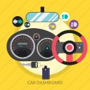 car, car dashboard, dashboard, rpm, speed, speedometer