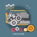 car, car machine, machine, mechanism, motor, technology, vehicle