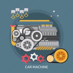 car, car machine, machine, mechanism, motor, technology, vehicle icon