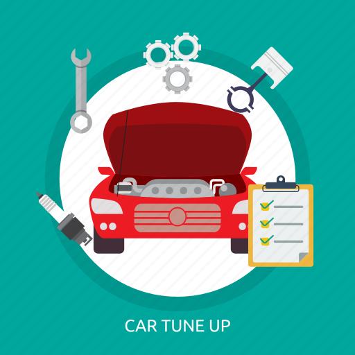 car, car tuneup, motor, repair, technician, tuneup icon