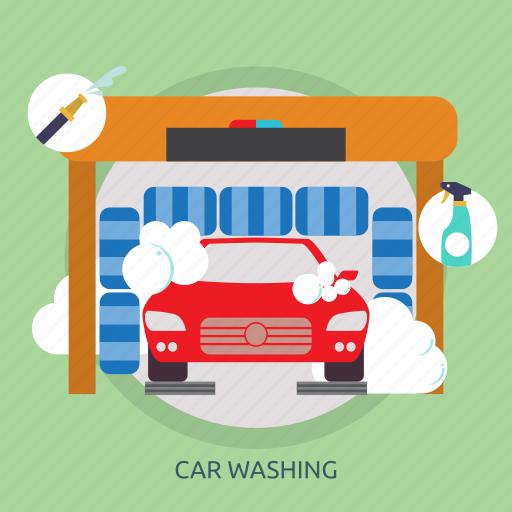 car, car washing, clean, polishing, washing icon