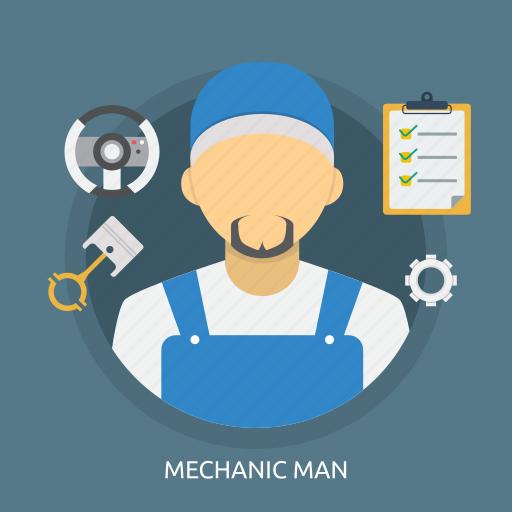 maintenance, male, man, mechanic, mechanic man, service, worker icon