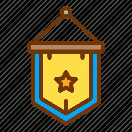 award, badge, honor, medal, shield icon