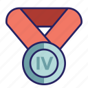 award, basic, challenge, medal icon