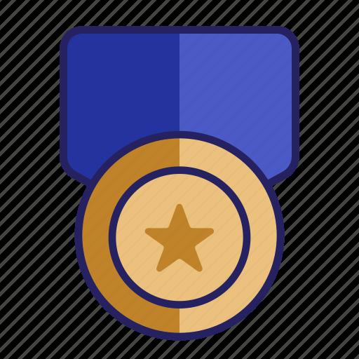 award, bronze, challenge, medal icon