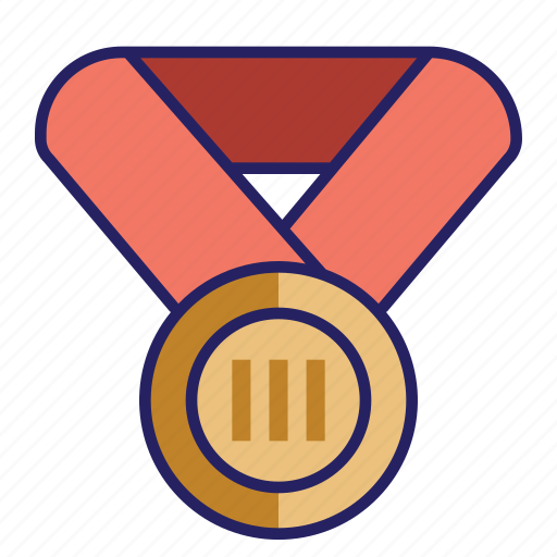 award, bronze, challenge, medal icon
