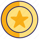 award, challenge, gold, medal icon