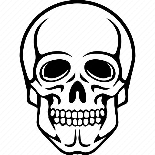 account, alert, attention, body, caution, corpse, danger, dead, death, error, exclamation, head, human, patient, person, poison, problem, profile, skull, user, warning icon