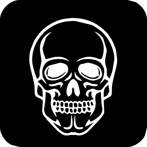 dead, death, face, halloween, head, poison, skeleton, skull icon