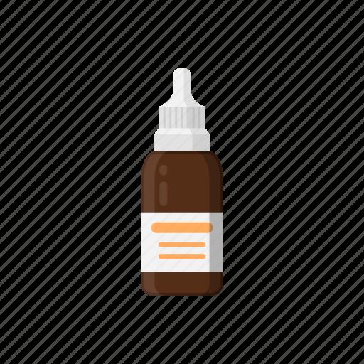 Bottle, drops, drugs, medicine, packaging, phial icon - Download on Iconfinder