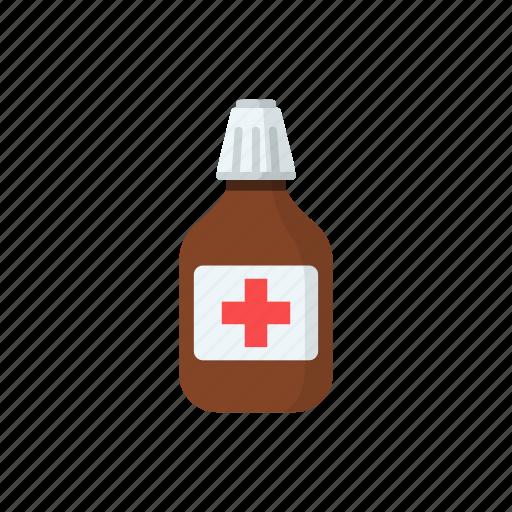Bottle, drugs, iodine, medicine, packaging icon - Download on Iconfinder