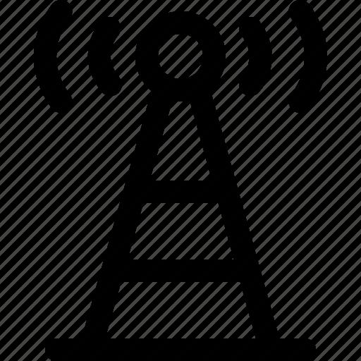 antenna, communication, radio, wireless icon