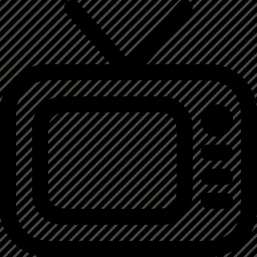 television, tv, vintage icon