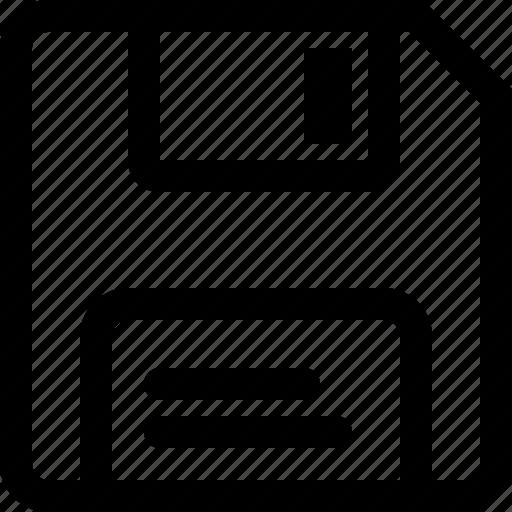data, evidence, floppy, information icon