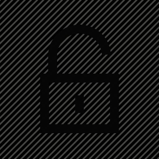 advertisement, business, marketing, media, network, news, unlock icon