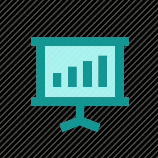 advertisement, business, marketing, media, network, presentation, slide icon